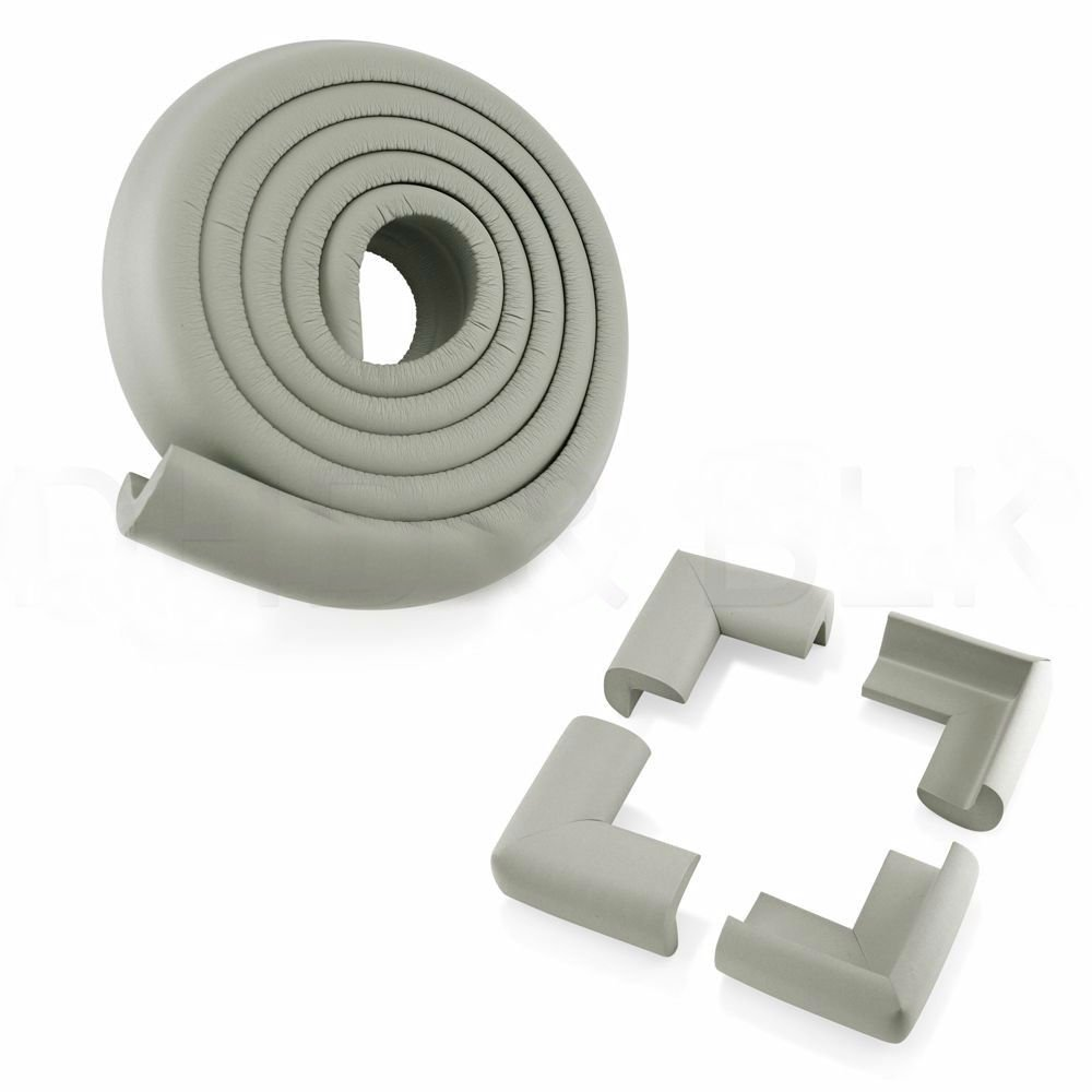 4pcs Baby Safety Table Edge Corner Cushion Guard Strip Bumper Protector