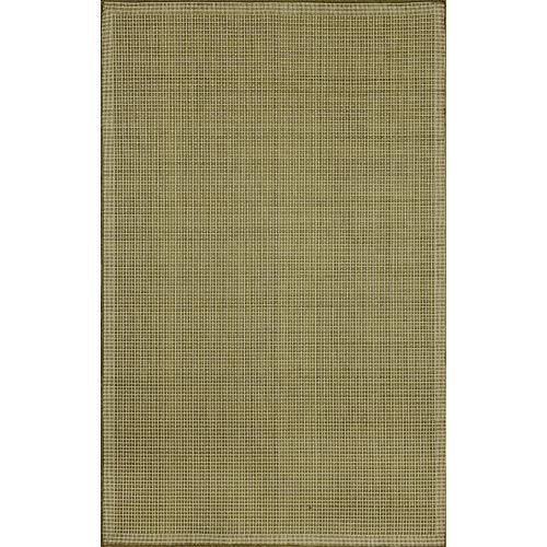 - Liora Manne Terrace Texture Rug, Indoor/Outdoor, 4-Feet 11-Inch by 7-Feet 6-Inch, Green/Ivory