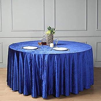 ROYAL-BLUE2019 Polyester Tablecloth58 x 120-Inch Rectangular  DecorationFashionPartyOutdoorTableclothsRunnersDecor