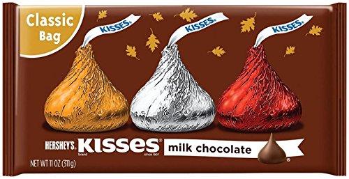 HERSHEY'S Milk Chocolate Kisses Fall Harvest - 11 oz