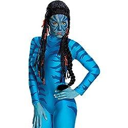 51996/173 Neytiri Wig Avatar Girl Wig