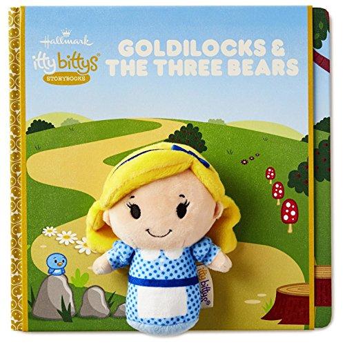 Hallmark itty bittys Goldilocks and The Three Bears Storybook and Stuffed Animal Set Itty Bittys Literary (Bear Itty Bitty)