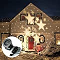 CM Light Moving Star LED Landscape Projector Light, Outdoor Garden Decoration Spotlight, Star Moves Automatically, Wall and Tree Christmas Holiday Decoration Light