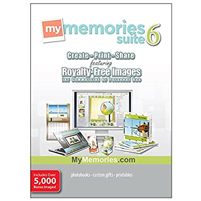 MyMemories Suite v6 with Creativity Collection (for Windows) [Download]