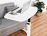 ELANGST Height Adjustable Mobile Laptop Stand Desk