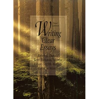 Writing clear essays 3rd edition how to write an academic philosophy essay