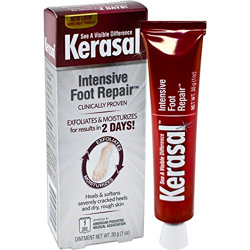 Kerasal Intensive Foot Repair, Exfoliates and Moisturizes, 1oz
