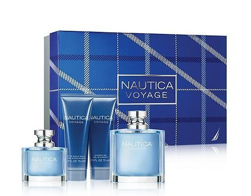 Amazon.com : Nautica Voyage By Nautica for Men 4 Piece Gift Set ...