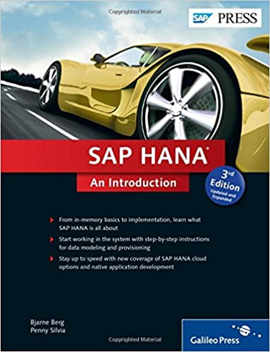 SAP HANA An Introduction