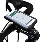 Satechi RideMate Bike Mount (Black) for iPhone 5S, 5C, 5, 4S, BlackBerry Torch, HTC EVO, HTC Inspire 4G, HTC Sensation, Droid X, Droid Incredible, Droid 3, Samsung EPIC, Galaxy S4, S5, S6, S6 Edge