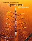 Operations Management : Contemporary Concepts and Cases, Schroeder, Roger G., 0072337656
