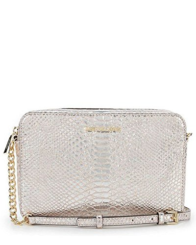 - Michael Kors Women's Snake Large Cross-body Bag - Soft Pink