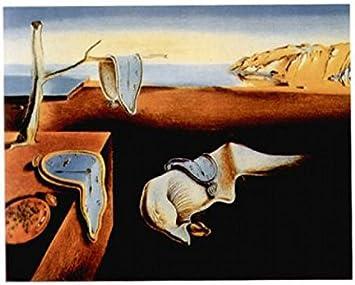1art1 Salvador Dali - La Persistencia De La Memoria, 1931 Póster Impresión Artística (50 x 40cm)