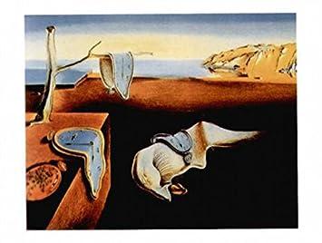 1art1® Salvador Dali - La Persistencia De La Memoria, 1931 Póster Impresión Artística (50 x 40cm): Amazon.es: Hogar