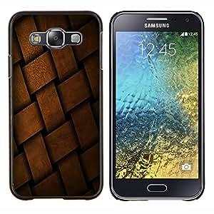 EJOOY---Cubierta de la caja de protección para la piel dura ** Samsung Galaxy E5 E500 ** --Fruta Fruta Macro Basket