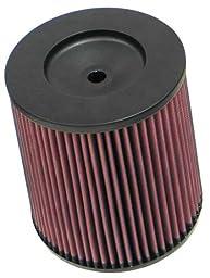 K&N RC-4900 High Performance Universal Clamp-on Chrome Air Filter
