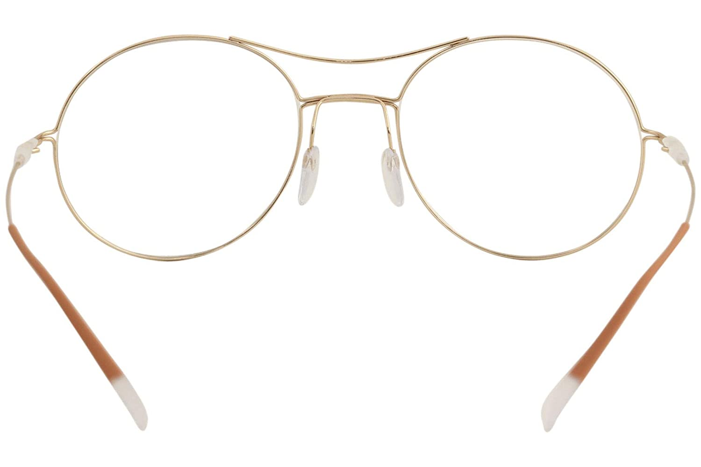 Eyeglasses Silhouette Dynamics Colorwave Full Rim 5508 7530 Gold//Black 52//19//140