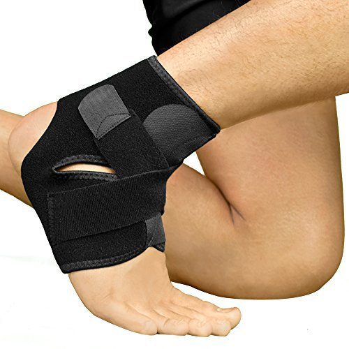 Bracoo Ankle Support, Compression Brace for Sport Injuries - Breathable Neoprene Sleeve...