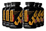 Liver care supplement - GRAVIOLA EXTRACT - Vitamins b - 6 Bottles 600 Capsules