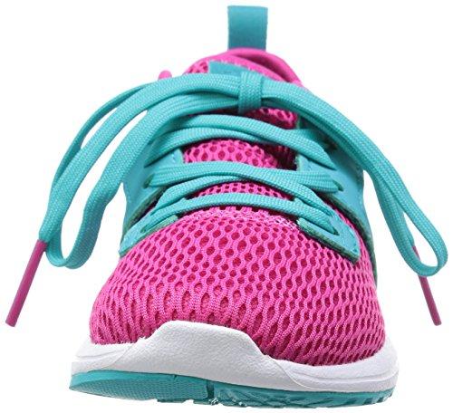 adidas Durama K, Zapatillas de Running Unisex Infantil Rosa / Azul / Blanco (Eqtros / Halo / Verimp)