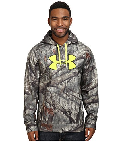 Under Armour Coldgear Scent Control Hoody - Men's Mossy Oak Treesland / Velocity Large (Under Armour Outdoor Coldgear Hood)