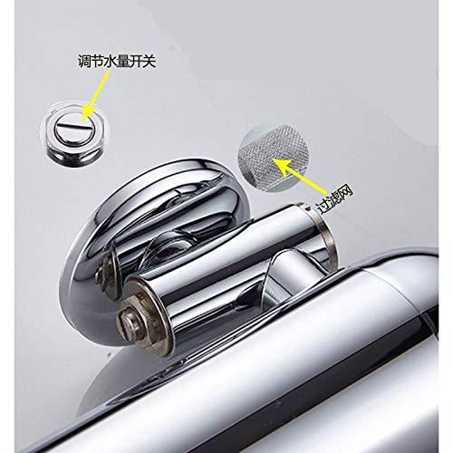 Mounted Flushometer - FAIYIWO Sensor Flush Valve Toilet Wall Mounted Automatic Flush Valve Urinal Flushometer Style:Copper Body FAIYIWO Like The Picture