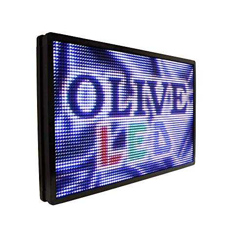 """OLIVE LED Sign Full Color P26, 36""""x69"""" Programmable Scrolling Outdoor Message Display Signs EMC - Industrial Grade Business Ad Machine. from OLIVE LED"""