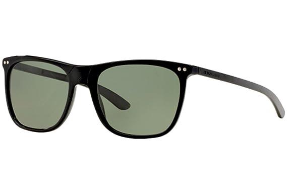 Armani Giorgio AR8048Q gafas de sol, Negro (Black 50179A ...