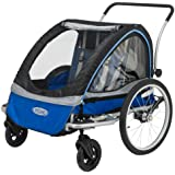InStep Rocket 11 Bicycle Trailer, Blue/Black