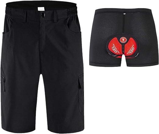 Trajes ciclismo masculino Pantalones sueltos de verano de MTB de ...