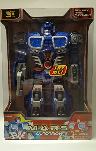 M.A.R.S. Autotron Blue Turbo Fighter Robot