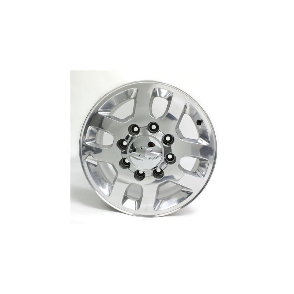 18 Inch Chevy Silverado Wheel Rim Factory Oem #5502 Polished