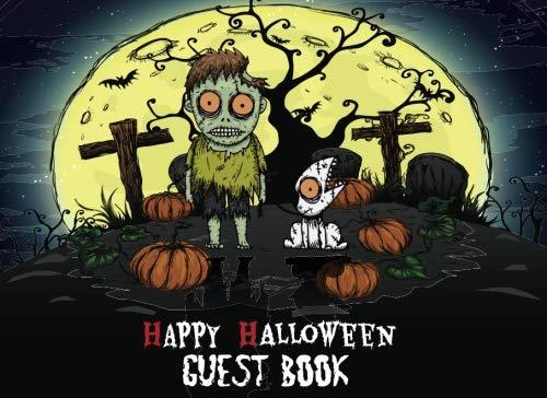 (Halloween Guest Book: Scary Costume Halloween Parties Guest Sign in Book Special Memories Keepsake (Halloween Party Guest Book) (Volume)