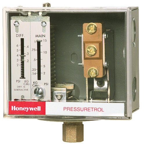 Honeywell L404F1060 Steam Pressure
