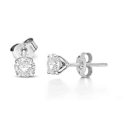 c9561187f Luxury 1 cttw Lab Grown Diamond Stud Earrings Lab Created Diamond Earrings  SI-GH Quality
