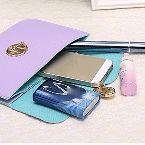 Cellulare Spalla Bag Modello Del Borsa Mini Donne beige Sacchetto Borse Crossbody Messenger Leather Croce Roseo Della Giallo 8XW0n0O