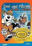 Geburtstagsausgabe: Emil und Pauline in der 1. Klasse. Deutsch, Mathe und Schreibförderung (2 CD-ROM)