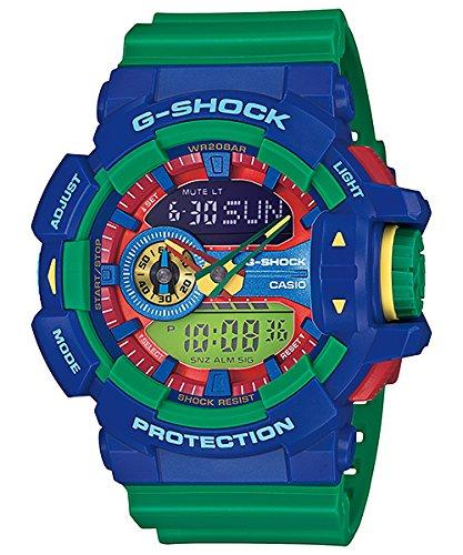 (Casio G-Shock GA-400-2A Multi-Dimensional Analog Digital Watch)
