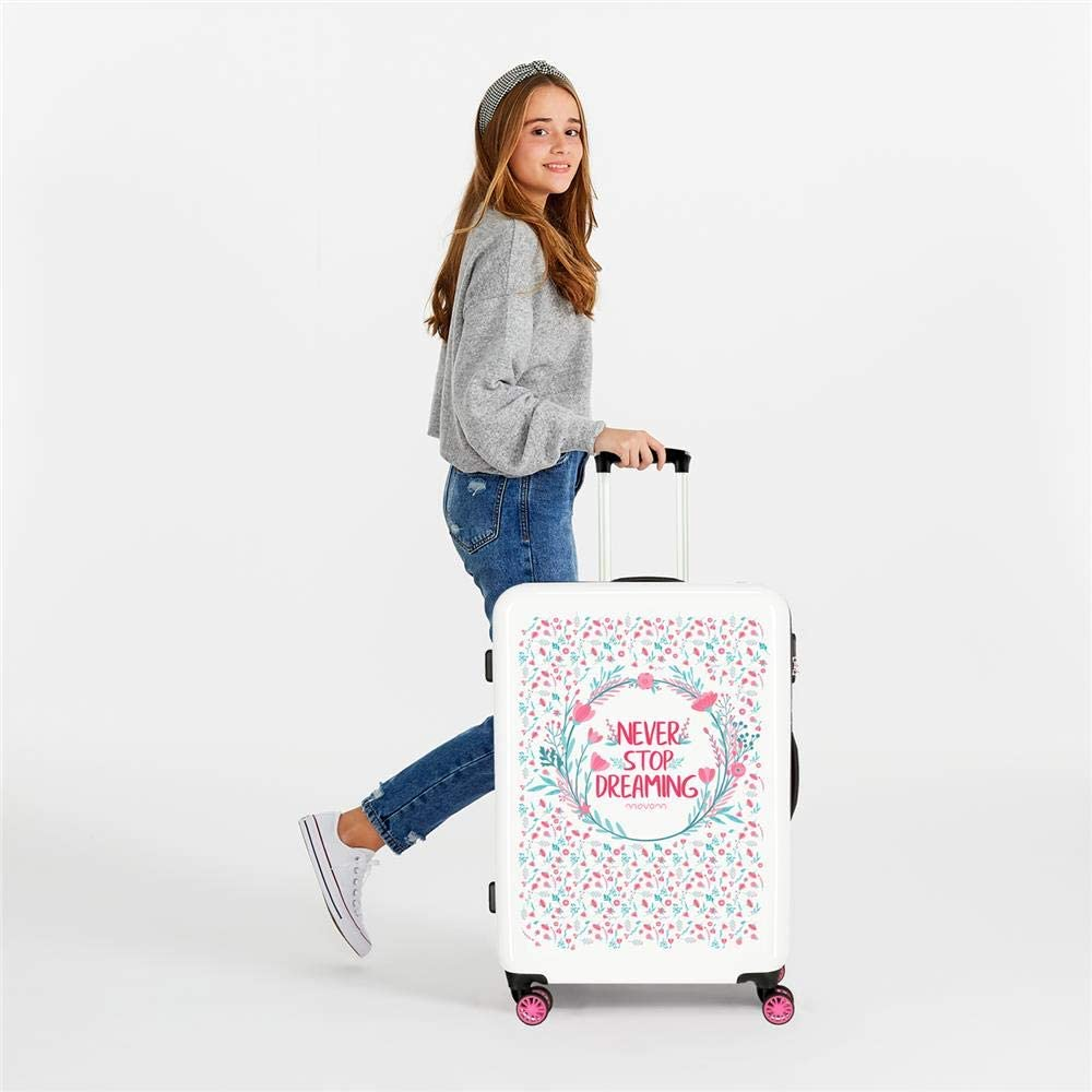 Valise Moyenne Rigide 68cm Movom Never Stop