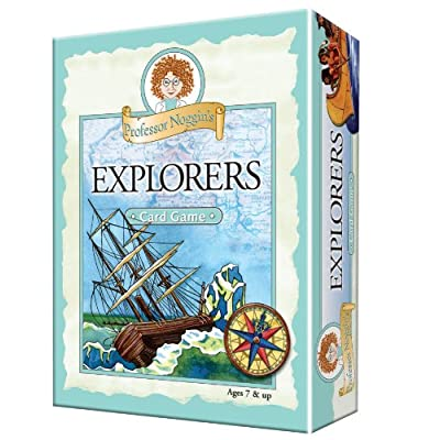 Educational Trivia Card Game - Professor Noggin's Explorers: Toys & Games