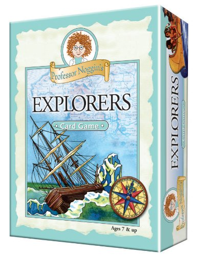 Educational Trivia Card Game - Professor Noggin's Explorers ()