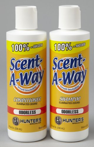 Best Deals! Scent-A-Way Shampoo and Conditioner by Hunter's Specialties