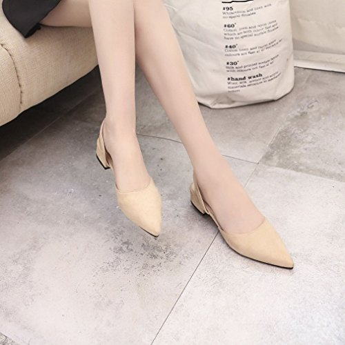tip piatto sandali toed femminile scarpe scarpe donne signora Mikimo Strappy casual scarpe tacco wTXHAqnx