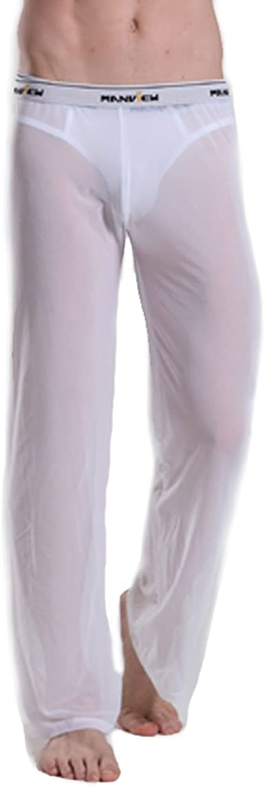 Manview Transparente Pantalones Hombre Blanco 01–06–100