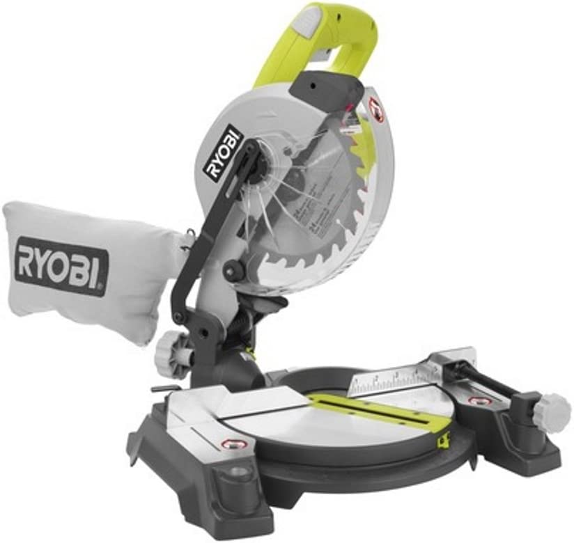Ryobi ZRTS1143L 7-1/4in Miter Saw with Laser Green