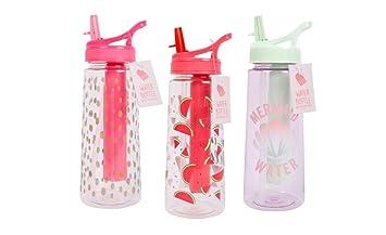 Botella de agua con palo de congelador para deportes de verano, bebida, vaso,