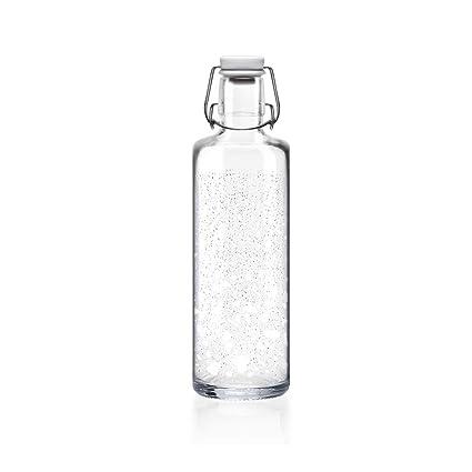 Soulbottles Icebreaker - Botella de Cristal y cerámica de ...