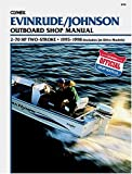 Evinrude/Johnson Two-Stroke Outboard Shop Manual 2-70 Hp 1995-1998, Clymer Publications Staff, 0892877049