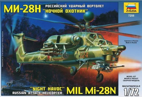 1.72 Mil MI-28N Russian Attack Helicopter