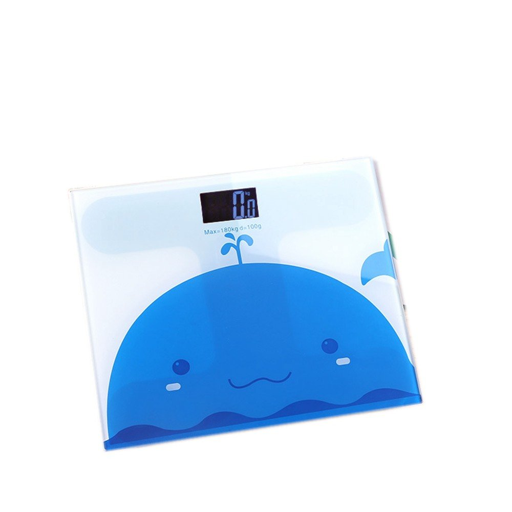 JTHKX Mini Balanza electrónica De Dibujos Animados Báscula de Baño Hogar Cuerpo Salud Báscula Báscula electrónica, C - Whip Girl: Amazon.es: Hogar